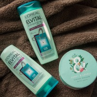 Elvital Extraordinary Clay šampūnas ir balzamas