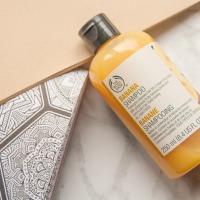 The Body Shop Banana plaukų šampūnas
